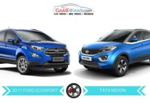 New Ford EcoSport vs Tata Nexon – Specs Comparison