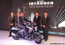 Suzuki Intruder 150 Launched In India, Price, Engine, Specs, Features