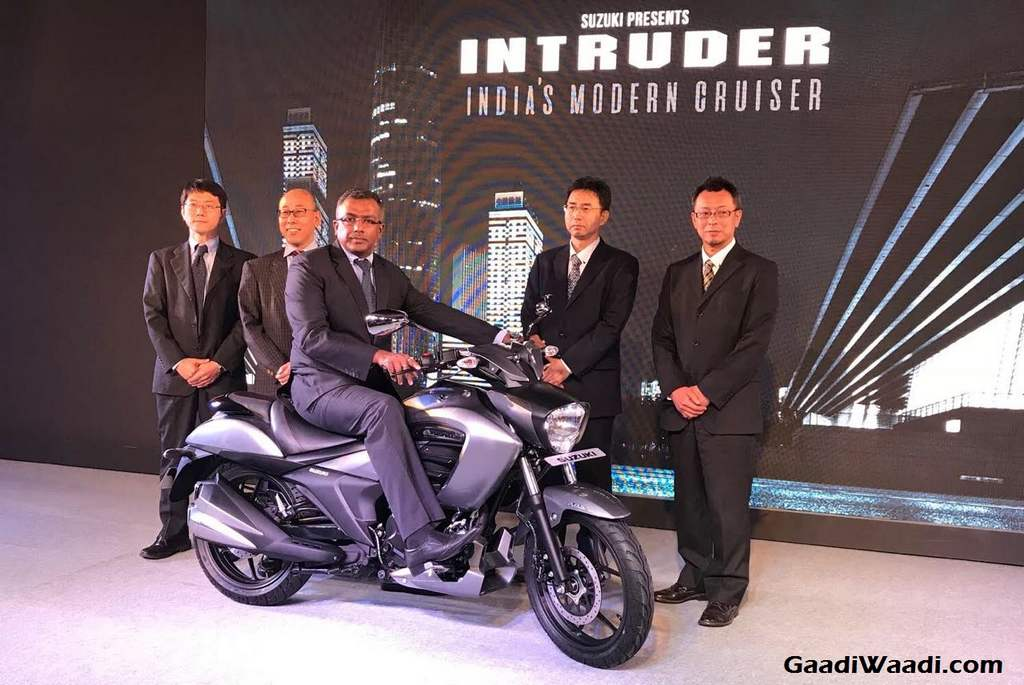 Suzuki Intruder 150cc Cruiser Launched In India Price Engine