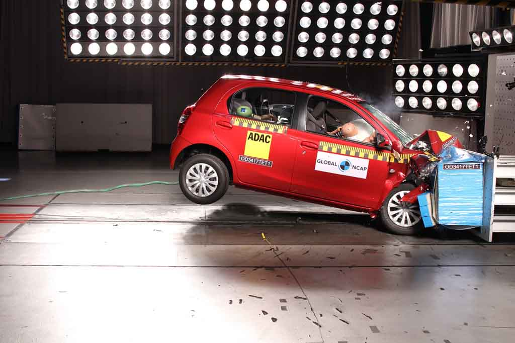 india made toyota etios liva gets 4 star safety rating from global ncap. Black Bedroom Furniture Sets. Home Design Ideas