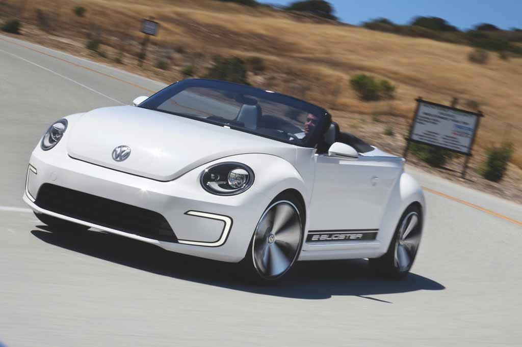 volkswagen  launch beetle electric  rwd layout