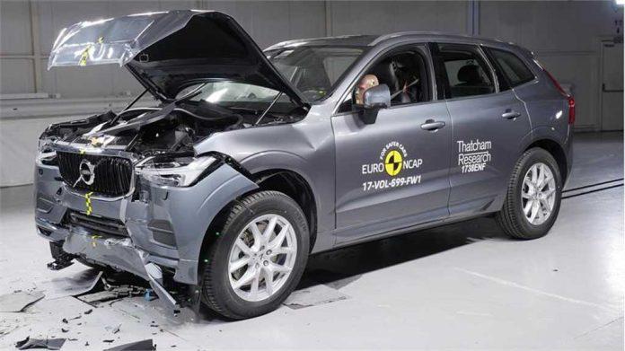 volvo xc60 becomes safest car ever after euro ncap crash test. Black Bedroom Furniture Sets. Home Design Ideas