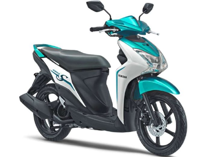 stylish yamaha mio s scooter launched in indonesia. Black Bedroom Furniture Sets. Home Design Ideas
