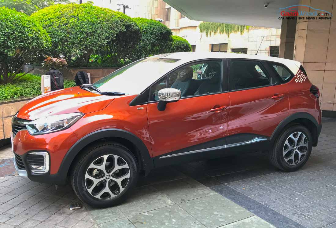 renault kaptur captur india price booking engine. Black Bedroom Furniture Sets. Home Design Ideas
