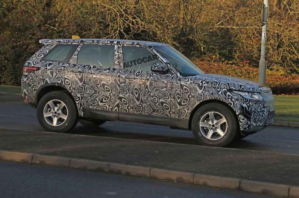 2019 Land Rover Defender Test Mule Spotted For The First Time