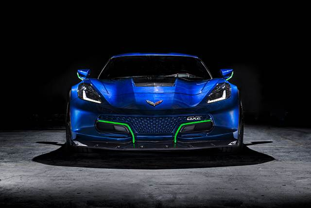 800 HP Genovation GXE Electric Sportscar Debuts At CES 2018