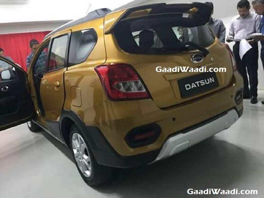 Datsun Go Cross India Launch, Price, Engine, Specs, Features, Interior