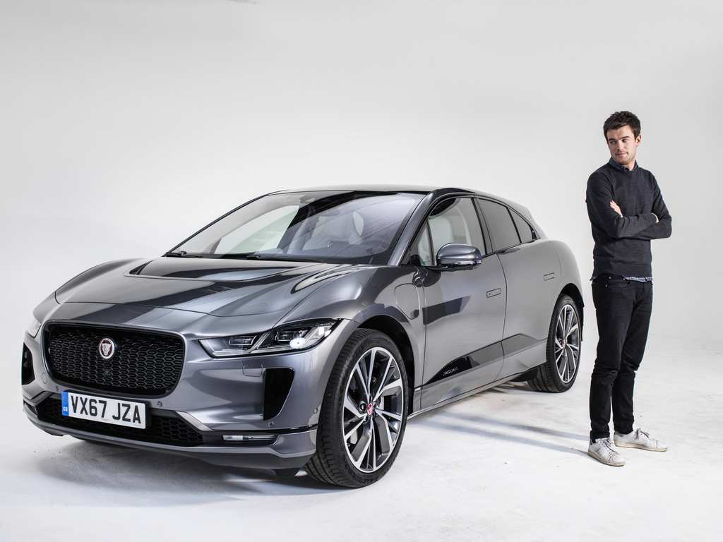 India-Bound Jaguar I Pace