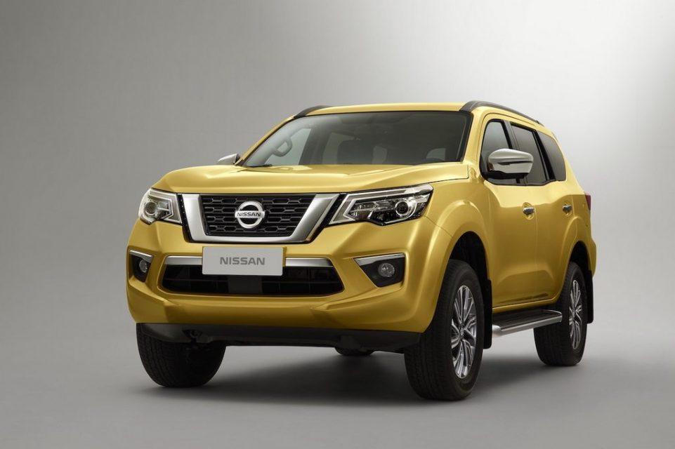 Nissan Terra SUV Revealed