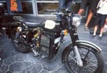 Royal Enfield classic 500 electric