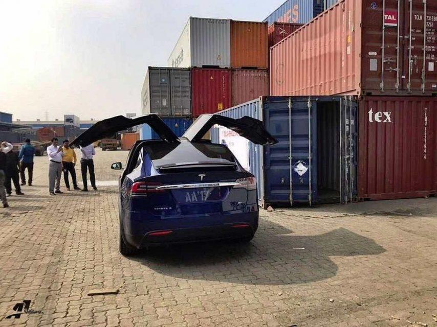 Tesla Model X Reaches India 2