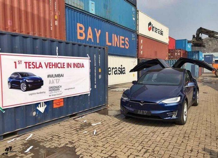 Tesla Model X Reaches India