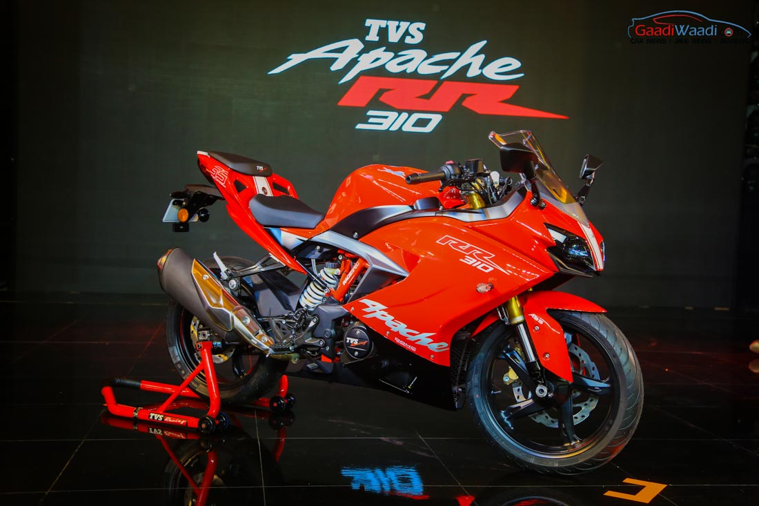 Tvs Apache Rr 310 Launched In India Price Engine Specs Pics