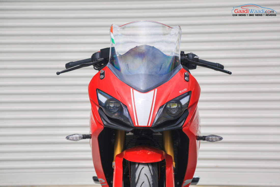 TVS Performance Bike Concept To Likely Debut At Auto Expo
