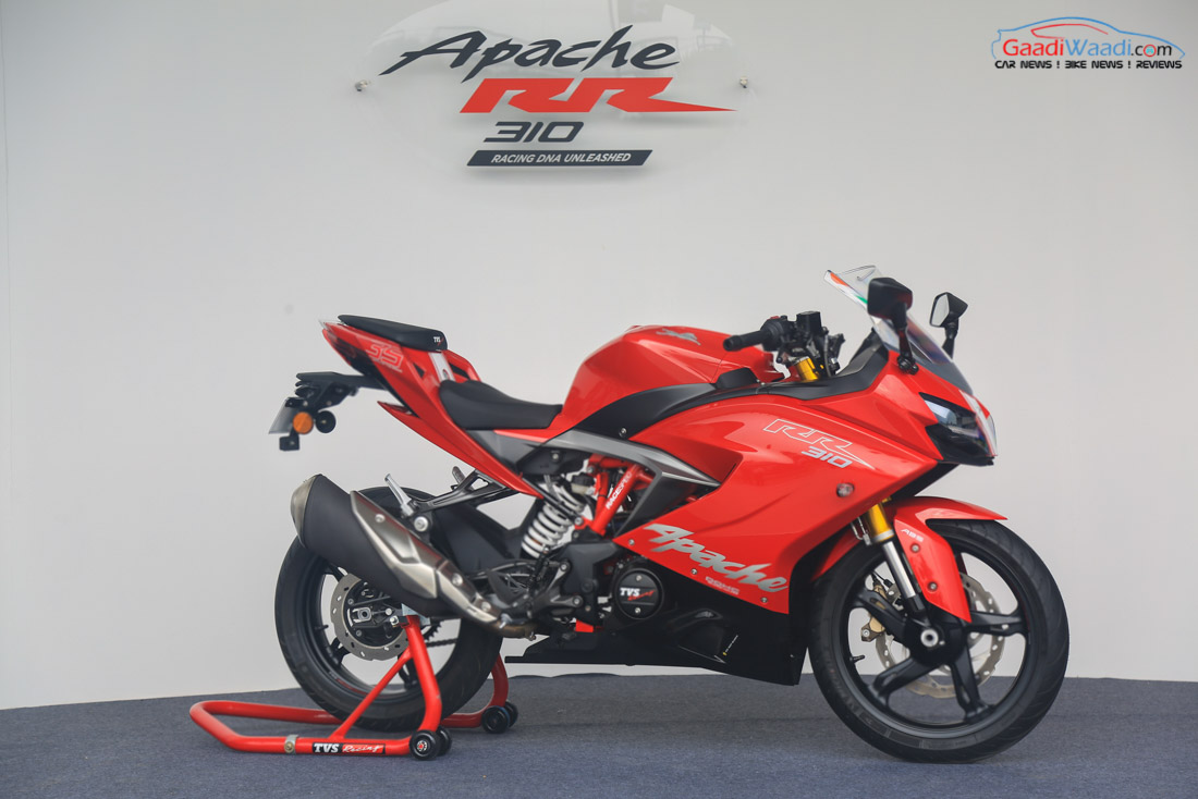 top 5 things you should know about tvs apache rr310