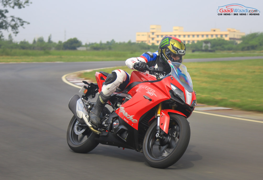 tvs apache rr price hiked  india  rs