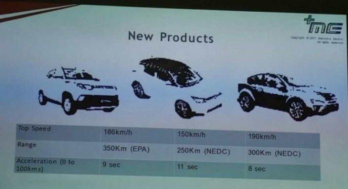 upcoming Mahindra electric vehicles