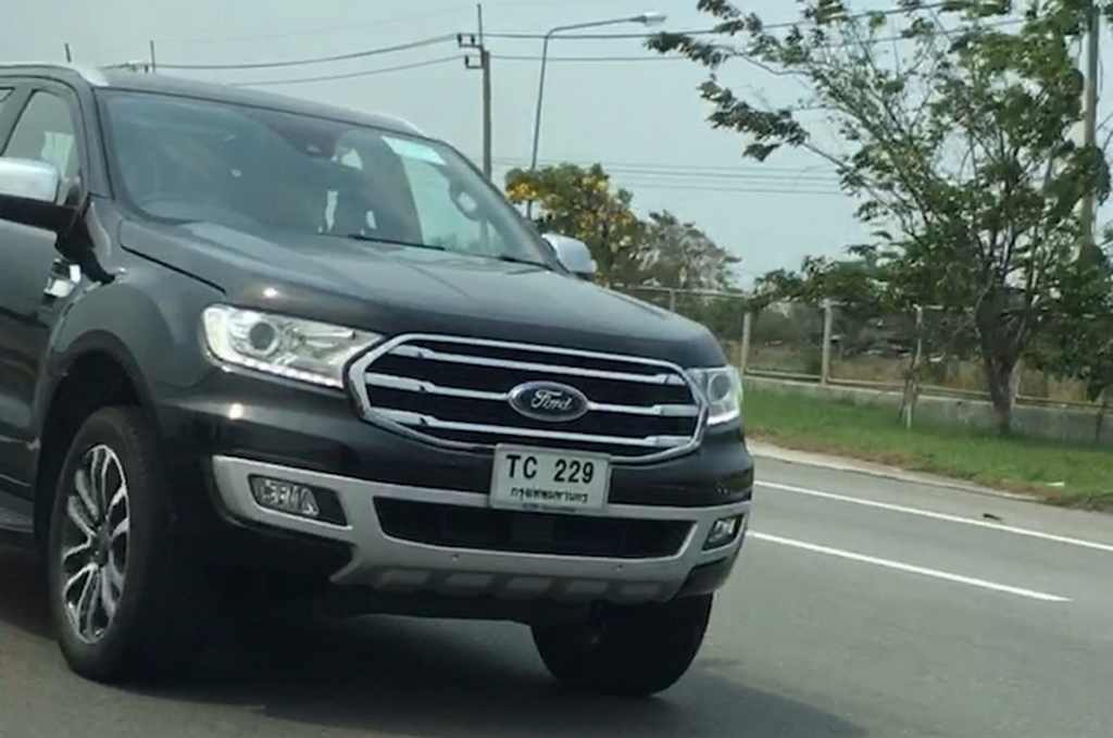 2018 Ford Endeavour Facelift India Launch, Price, Engine, Specs, Interior 1