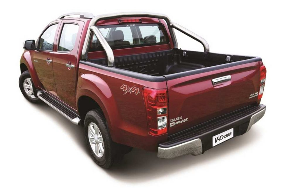 2018 isuzu d max v cross launched in india price engine. Black Bedroom Furniture Sets. Home Design Ideas