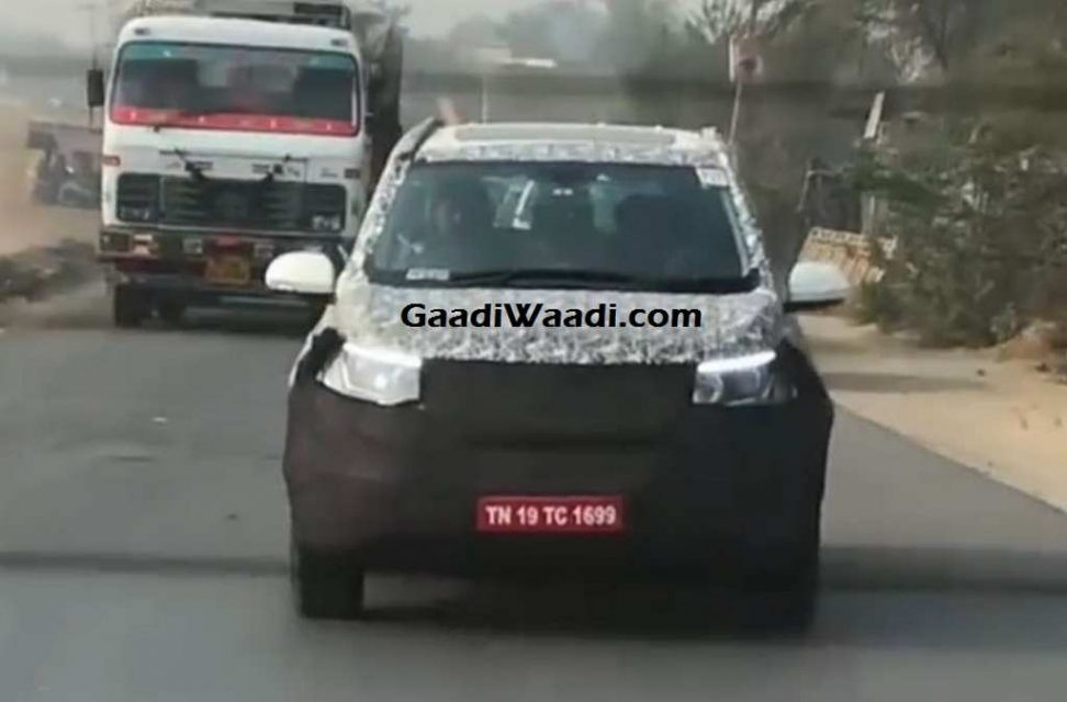 2018 Mahindra XUV500 Facelift India Launch, Price, Engine, Specs, Features, Interior 1