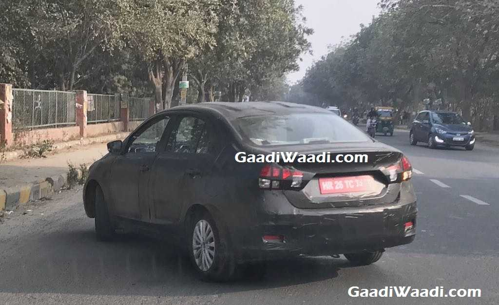 2018 Maruti Suzuki Ciaz Spied - India Launch, Price, Engine, Specs, Featurees, Interior 1