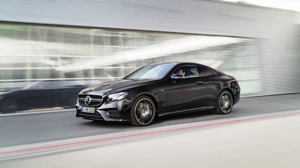mercedes amg uncovers e53 coupe and cabriolet in detroit