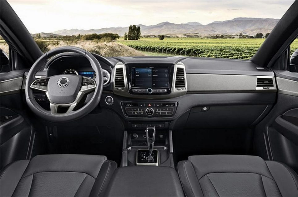 2018 SsangYong Musso (Rexton Sports) Interior