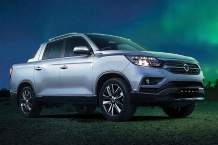 2018 SsangYong Musso (Rexton Sports) Pickup Official Image Revealed
