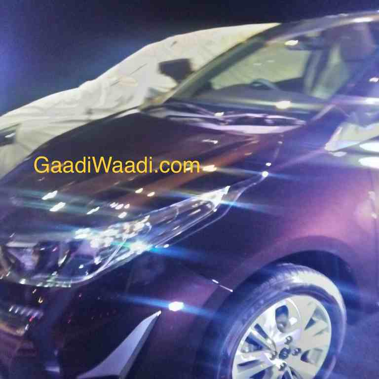 2018 Toyota Vios (Yaris ATIV) Spied In India
