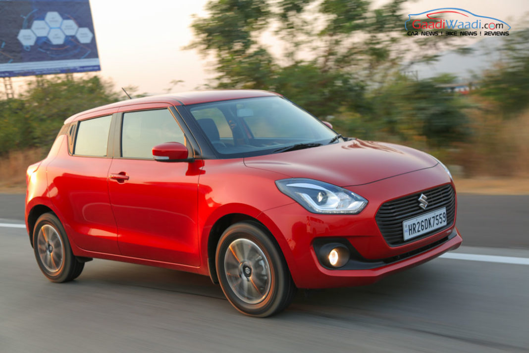 2018 maruti swift review india-14 (2018 Maruti Swift Discounts)