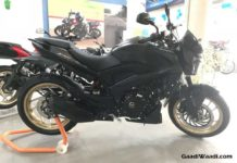 Bajaj Dominar 400 Black Colour Gold Wheels
