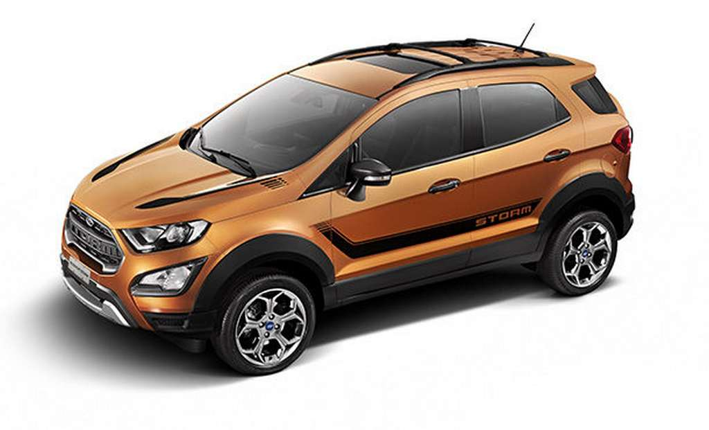 Ford Ecosport Storm Unveiled Price Engine Specs Features Pics Performance