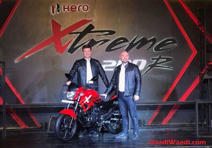 Hero Xtreme 200R Launched In India - Price, Specs, Engine, Specs, Features