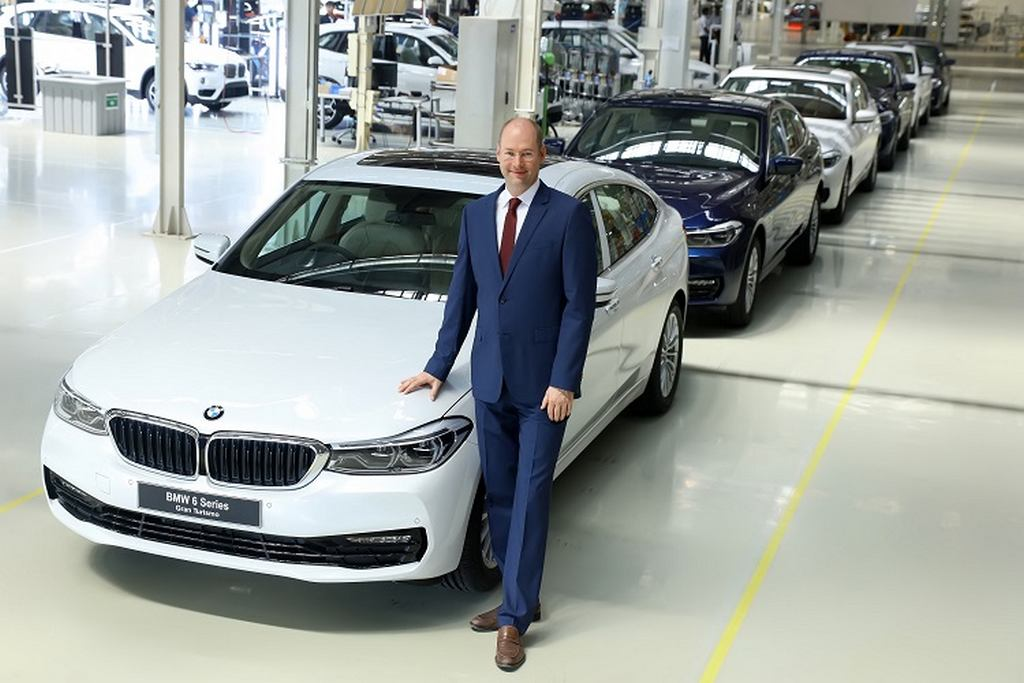 Locally-Assembled BMW 6-Series GT Rolled Out Of Chennai Plant