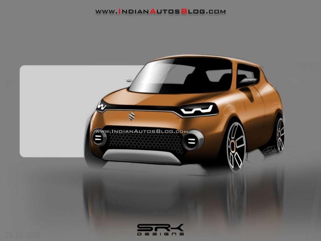 Maruti Suzuki Future S Suv Concept Rendered With Aggressive Design