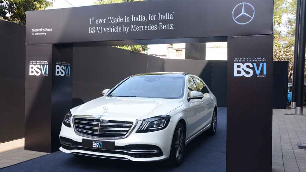 Mercedes Becomes First Carmaker To Launch Bs Vi Model In India