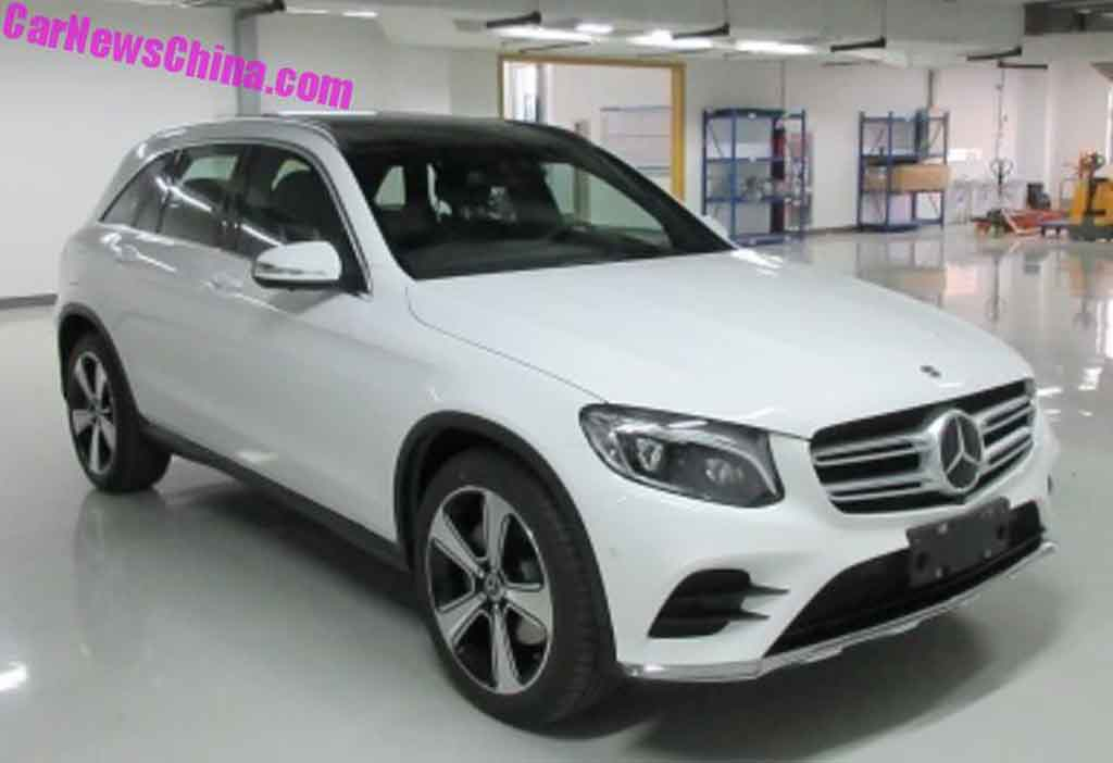 Mercedes benz readying glc long wheelbase for china for Mercedes benz china