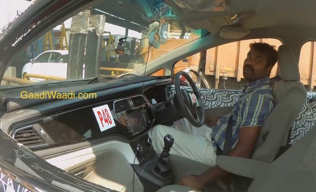 New Mahindra MPV Interior
