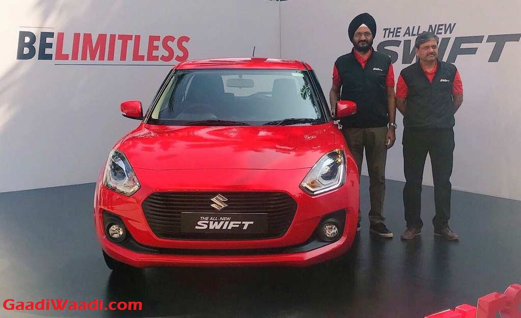 New Maruti Swift Unveiled In India Ahead Of Market Launch At Auto Expo