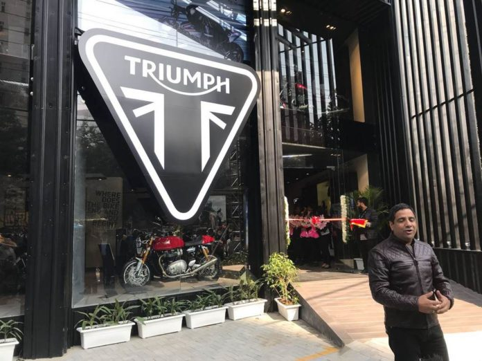 Triumph Motorcycles Sets Up New Dealership In Gurugram 3