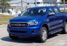Upcoming Ford Ranger Spied Undisguised Completely 1