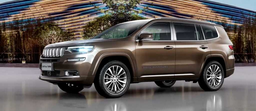 2018 Jeep Grand Commander Revealed Launch Price Engine Specs