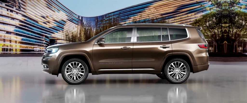 jeep grand commander revealed launch price engine specs