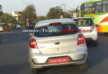 2018 Ford Figo Facelift Spied Testing Undisguised In India