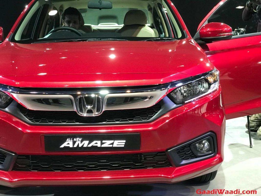 2018 Honda Amaze India Launch, Price, Engine, Specs, Features, Interior, Design 1