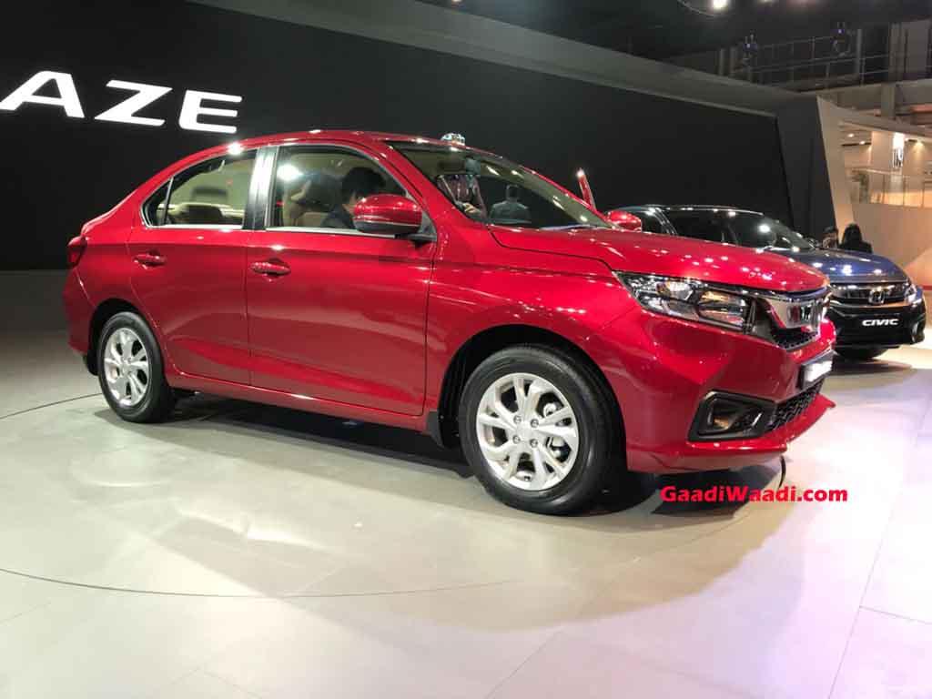 2018 Honda Amaze Launched In India Price Specs Features Interior
