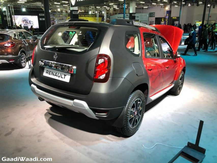 2018 Renault Duster Special Edition Auto Expo 1