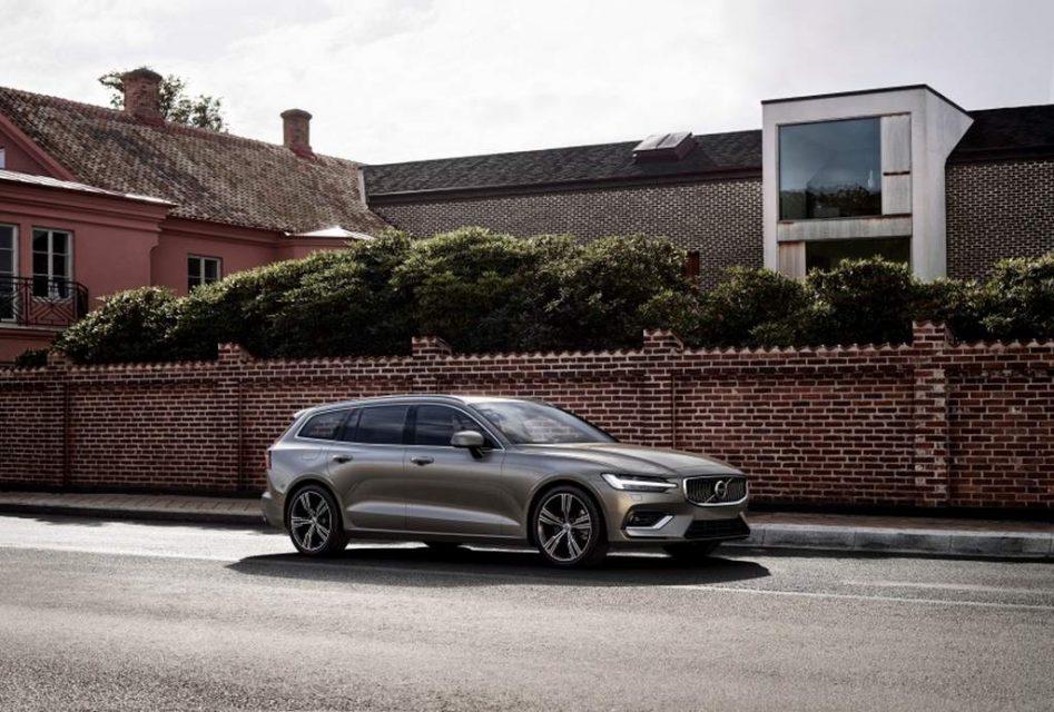 2018 Volvo V60 unveiled 1