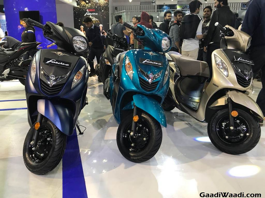 2018 Yamaha Fascino Launch, Price, Engine, Specs, Features 3