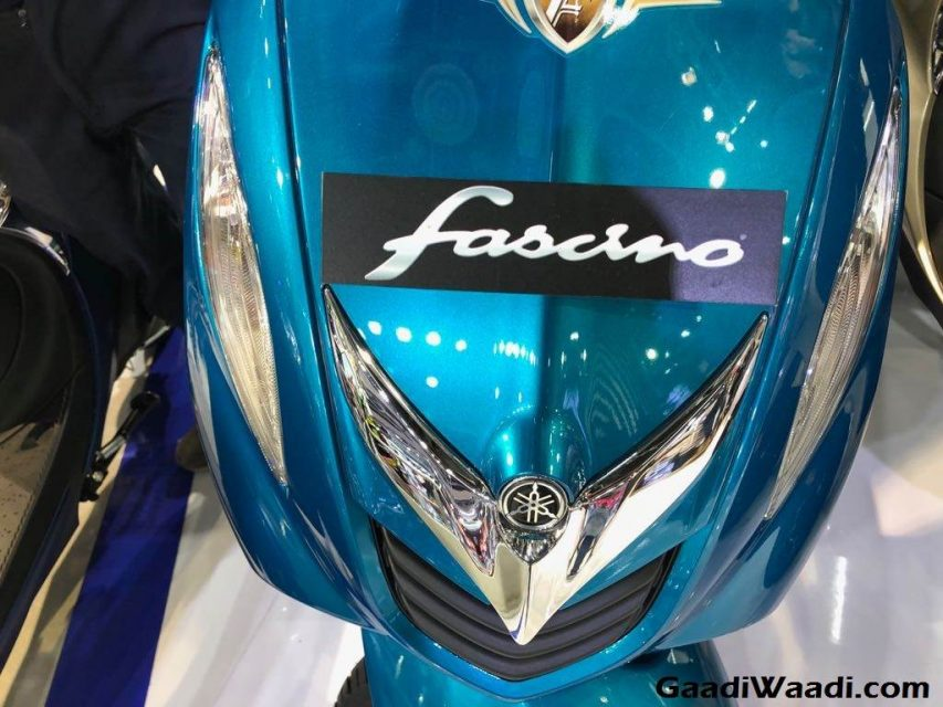 2018 Yamaha Fascino Launch, Price, Engine, Specs, Features 5